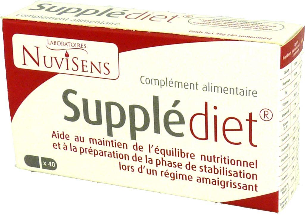 régime et compléments alimentaires